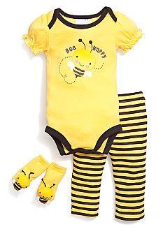 Nursery Rhyme® Bee Happy 3-Piece Set