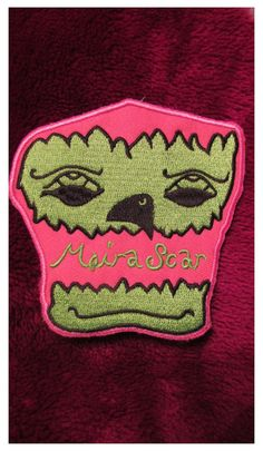 moira scar patch designed by bunny cult by BunnyCult13 on Etsy, $5.00