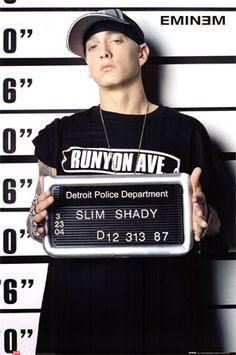 Eminem aka slim shady