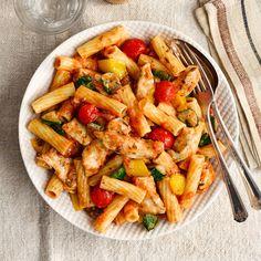 Diet Recipes Pasta Slimming World 23 Super Ideas Slimming World Pasta, Slimming World Chicken Recipes, Slimming World Snacks, Chicken Diet Recipe, Chicken Pasta Recipes, Vegetable Pasta Recipes, Diet Recipes, Healthy Recipes, Healthy Food