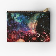 'Galactic Attraction' Zipper Pouch by Iphone Wallet, Iphone Cases, Gifts For Family, Zipper Pouch, Attraction, Zip Around Wallet, My Arts, Throw Pillows, Art Prints