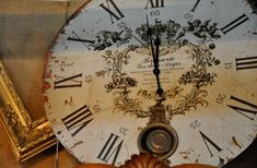 Love vintage clocks and clock faces.