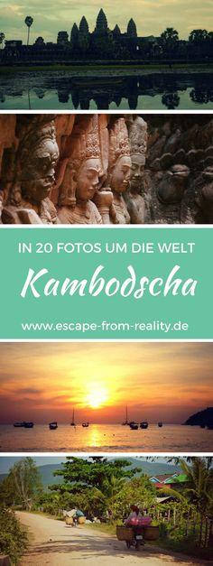 Bei Kambodscha denkt man zuallererst an Angkor Wat – Touristen pilgern in Scharen zu der riesigen Tempelanlage. Viele kommen nur deswegen für ein paar Tage, ohne sonst etwas vom Land zu sehen. Der zweite Gedanke gilt oft der Schreckensherrschaft der Roten Khmer. Doch Kambodscha hat noch viele andere Gesichter. Die Schönheit des Landes, die Freundlichkeit der Menschen, Natur, Kultur und nicht zuletzt die herrlichen Strände – Kambodscha hat einiges zu bieten. #kambodscha