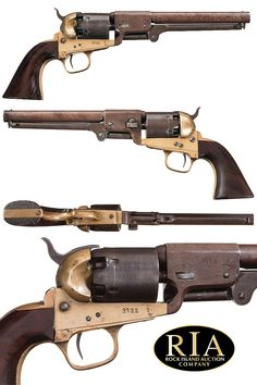 Exceptional Confederate Griswold and Gunnison Percussion Revolver Weapons Guns, Guns And Ammo, Rifles, Black Powder Guns, Revolver Pistol, Fire Powers, Gun Holster, Military Guns, Cool Guns