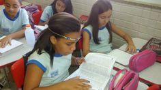Blog do Inayá: Aula de Substantivo Coletivo da Professora Samantha Franklin é realizada com atividade em dupla