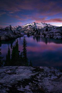 Valley of Blue Moon - Mt Daniels, Washington