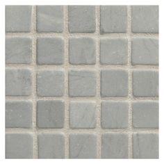 "Complete Tile Collection, 1"" Square Mosaic, MI#: 065-S2-400-451, Color: Grey Bardiglio"
