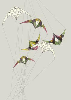 Spring kites
