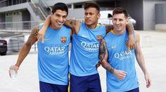 Entrenamiento (28/08/15) | FC Barcelona