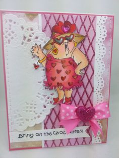 Bring on the Chocolate  Handmade Card by creationsbywendalyn, $6.00