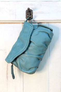 aunts and uncles Peanut Handtasche XS Clutch aqua