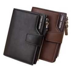 With coin bag High quality men's leather Wallets men Wholesale short leather wallets card holders purse for men Free Shipping