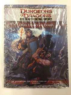 Dungeons and Dragons Fourth Edition: Dark Legacy of Evard Adventure #dnd #dungeonsanddragons