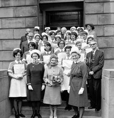 Prize giving May 1970 Edinburgh Royal Infirmary