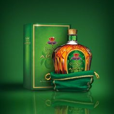 Who's the new member of the royal family? She's regal, Crown Royal Regal Apple. Straight as a chilled shot, or as a cocktail, the Crown Royal apple is worth