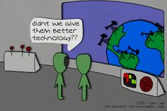 Not My Earth (Not My Problem): Puzzled Helpers