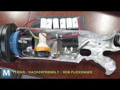 Harness Lightning with This Hand-Held Tesla Gun