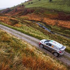 What a wonderful course of WRC Wales Rally to drive through - 가을 분위기가 물씬 나는둘째 날의 WRC 영국 웨일즈 랠리 - #autumn #fall #lovely #colorful #niceview #cantstopwatching #gofaster #gravel #run #race #carwithoutlimits #i20WRC #Wales #United_Kingdom #Rally #motorsport #WRC #Hyundai