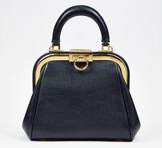 Christian Dior Navy Handbag