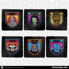 Outlaw 6-Coaster Set