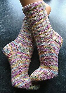 "another ""Melly-short-pattern"" (pattern without instructions for heel and toe)"