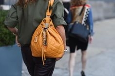 Chanel backpack in the perfect shade of 'Pumpkin Spice Latte' (#PSL)