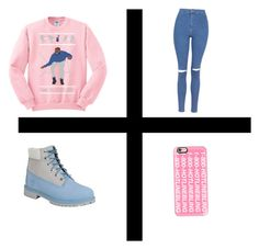 """Hotline~bling"" by jada-daire on Polyvore featuring Topshop, Timberland and Casetify"