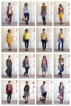 30 Fall Outfit Ideas In One Capsule Wardrobe via Stylebook
