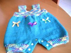 Patrón para realizar pantaloncito para bebés