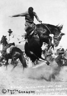 Soapy on a Bucking Bronc by glenbowmuseum, via Flickr