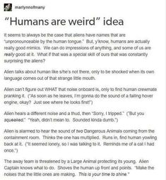 Humans in space aliens writing prompts, space australia и tu Writing Help, Writing A Book, Writing Tips, Writing Prompts, My Tumblr, Tumblr Funny, Funny Memes, Hilarious, Funny Quotes