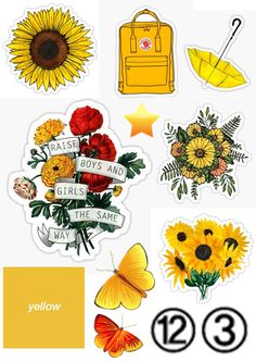 yellow stickers – Phone case for girls Bubble Stickers, Phone Stickers, Journal Stickers, Cool Stickers, Planner Stickers, Tumblr Sticker, Wallpaper Stickers, Wallpaper Backgrounds, Cute Wallpapers