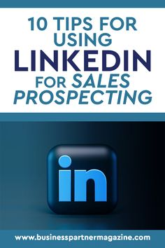 Prospecting clients requires marketers and sales representatives to use social media more nowadays. In this regard, LinkedIn, having around 250 million active audiences, can become a source for research and a tool for reaching leads, prospects, or potential clients. #LinkedIn #salesandmarketing