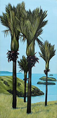 kirsty nixon nz landscape artist, acrylic paintings, bush scenes