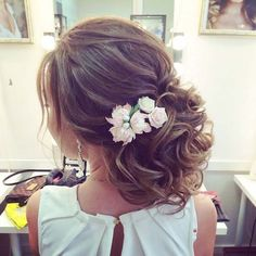 wedding hairstyle updo 8 via antonina roman / http://www.himisspuff.com/beautiful-wedding-updo-hairstyles/11/