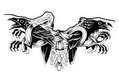 odin raven tattoo - Google Search