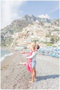 Positano Engagement Photos | Amalfi Coast Wedding | Italy Engagement Photos