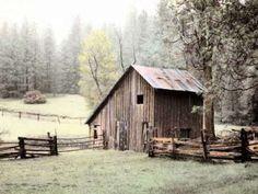Barn near Sonora