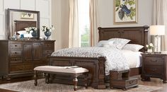Affordable Panel King Bedroom Sets - Rooms To Go Furniture