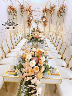 Wedding Venue Decorations, Backdrop Decorations, Decor Wedding, Backdrops, Wedding Venues, Order Of Wedding Ceremony, Tea Ceremony, Luxury Wedding, Birthday Party Themes