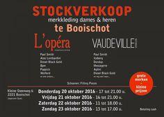 Stockverkoop merkkleding voor dames en heren -- Booischot -- 20/10-23/10