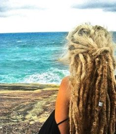 The wild part of me says, you should get dreads Lexi. They'd be so easy to take care of. But the cosmetologist part of me says, no ma'am. Do you know how nasty they are. The struggle.