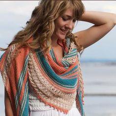 Beachcomber Shawl - Knitting Patterns and Crochet Patterns from KnitPicks.com