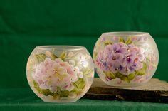 Mini+bubble+bowl+/+candle+holder++hydrangea+or+by+ArteeVita,+$10.00
