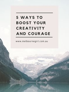 5 Ways To Boost Your Creativity And Courage // Melbourne Girl -- Personal Development Books, Spiritual Development, Self Development, Psychology Books, Psychology Facts, Business Tips, Creative Business, Life Advice, Life Tips