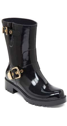 With rainboots like these, we'll be so happy when it rains. | Vince Camuto rain boots