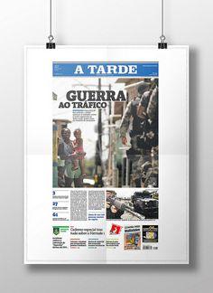 Capa Tráfico. Diagramação. Publicada em 26/03/2011