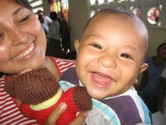 An adorable baby from our Peru, 2009 missioin
