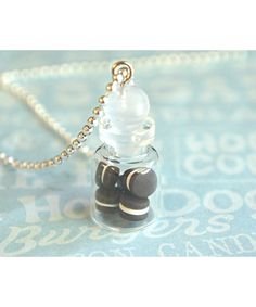 oreos in a jar necklace #shoplately