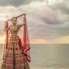 All Ethnic Customization with Hand Embroidery & beautiful Zardosi Art by Expert & Experienced Artist That reflect in Blouse , Lehenga & Sarees Designer creativity that will sunshine You & your Party Worldwide Delivery. Indian Bridal Outfits, Indian Bridal Fashion, Indian Bridal Wear, Indian Dresses, Bride Indian, Indian Wedding Lehenga, Bridal Lehenga Choli, Indian Weddings, Punjabi Wedding